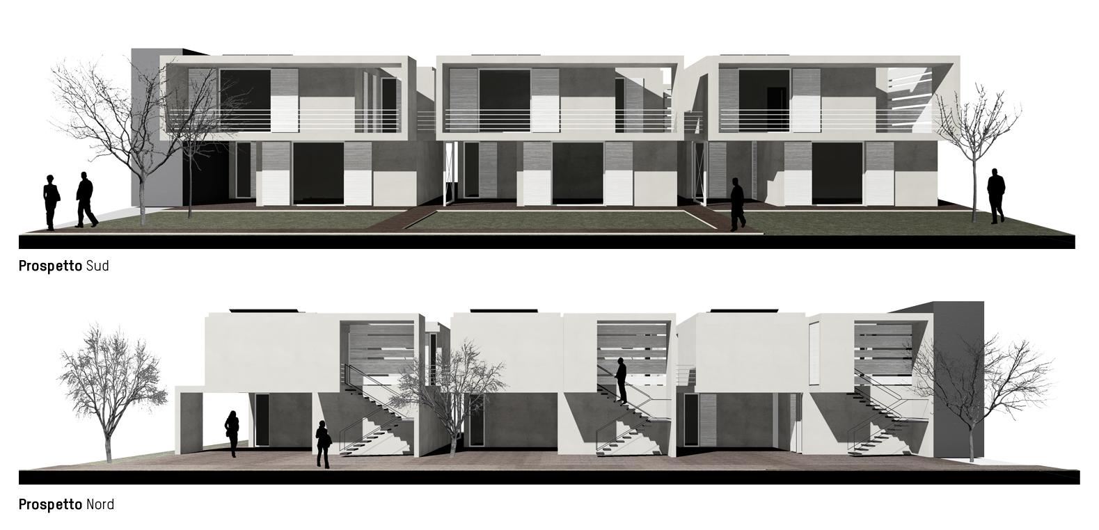Complesso residenziale manerbio bs battito architettura for Architettura residenziale contemporanea